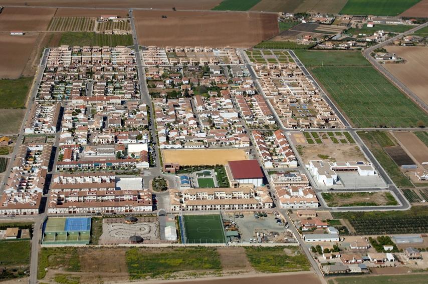 Vista aérea de Encinarejo