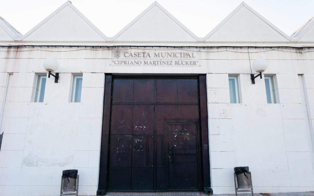 "Caseta Municipal ""Cipriano Martínez Rücker"""